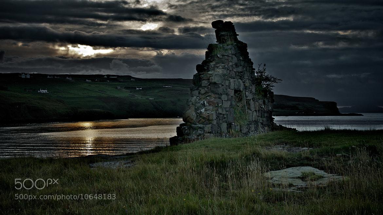 Photograph Ruin, Loch Pooltiel, Skye by John Barker on 500px