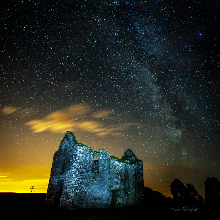 Photograph Milky way over Galway by conor ledwith on 500px