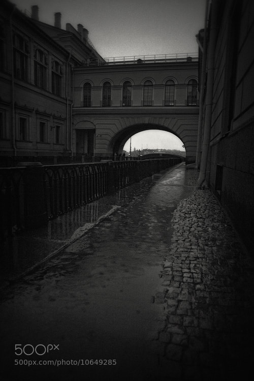 Photograph Night. Rain. Architecture. by Dmitry Shamin on 500px