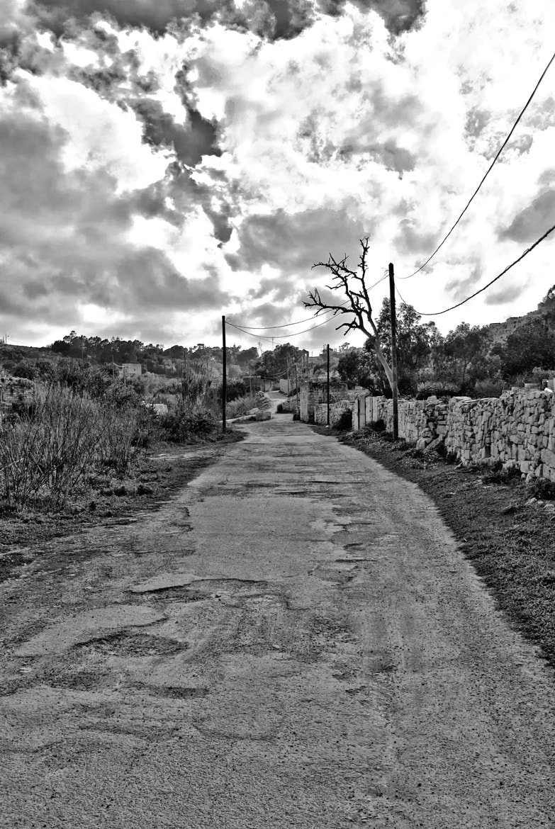 Photograph The road to nowhere by Stanley Azzopardi on 500px