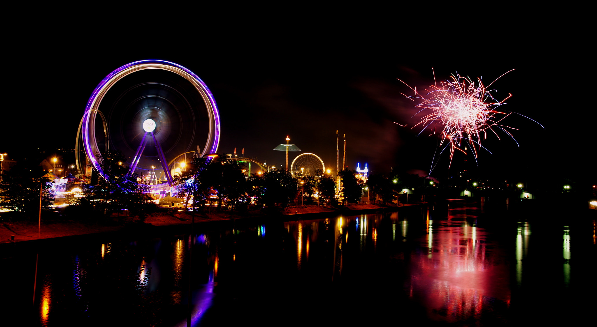 Photograph Fireworks in Germany by Ramesh  Mohan on 500px
