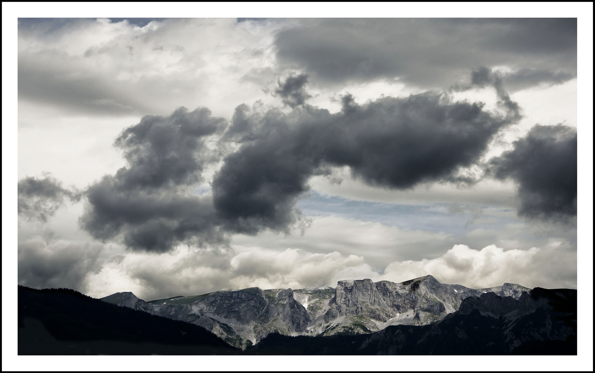 Photograph a dark and dreary day by Karin Ziegler on 500px