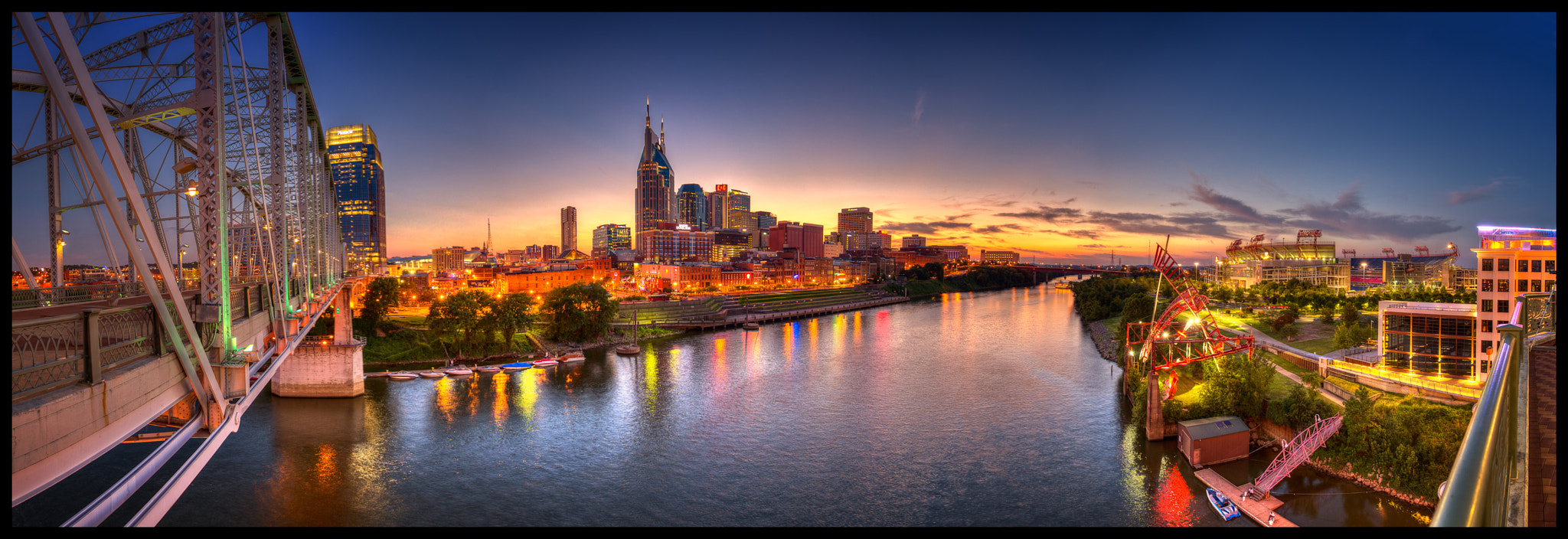 Photograph Nashville Panorama by Brett Engle on 500px