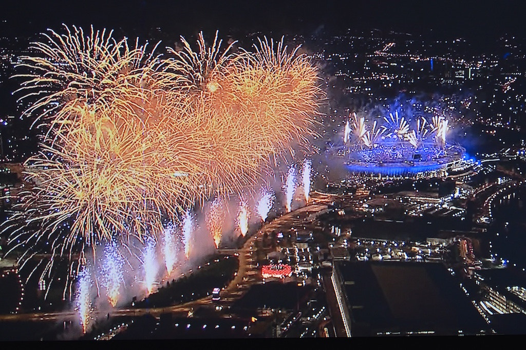 Photograph Olympic fireworks by Andrea Rapisarda on 500px