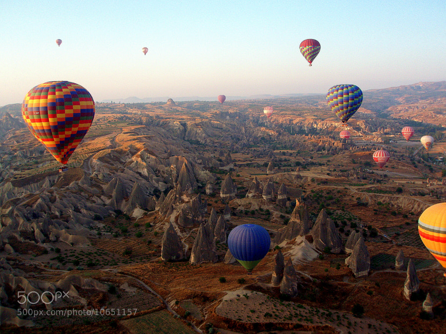 Photograph balloons over Cappadocia by Carlos Luque on 500px