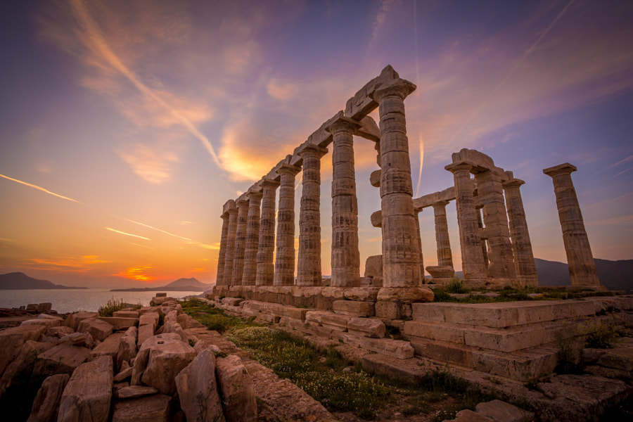 Temple of Poseidon by Julien ITURRIA on 500px.com