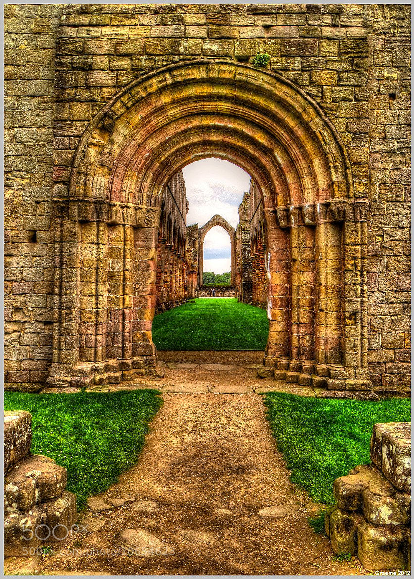 Photograph Through The Arches by Graeme 2012 on 500px