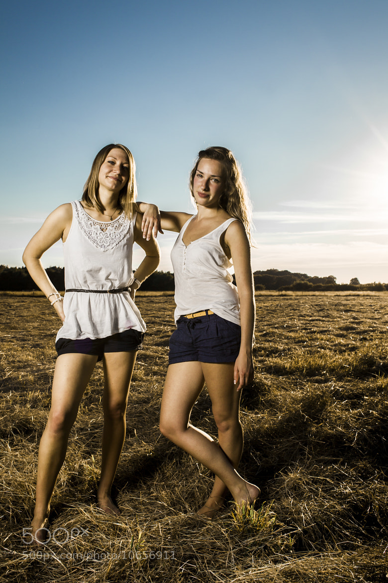 Photograph  Two Girls on the pasture by Marco Guerreiro on 500px