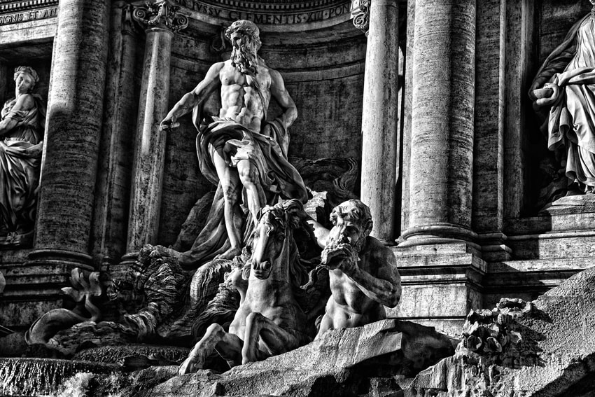 Photograph Fontana Di Trevi by mario pignotti on 500px