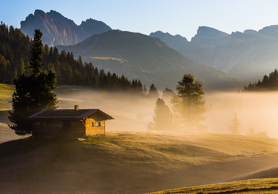 """<a href=""""http://www.hanskrusephotography.com/Workshops/Dolomites-Workshop-Oct-8-12-12/18012376_JfTs4d#!i=1972719943&k=SfmrKDV&lb=1&s=A"""">See a larger version here</a>  This photo was taken during a photo workshop that I led in the Dolomites in October 2011."""