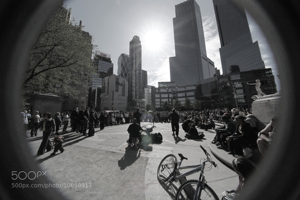 Photograph Columbus circle, NYC by Miquel  Martorell  on 500px