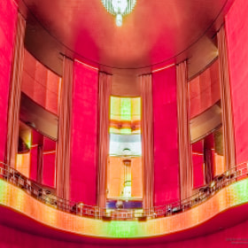 Grand Foyer at the Radio City Music Hall