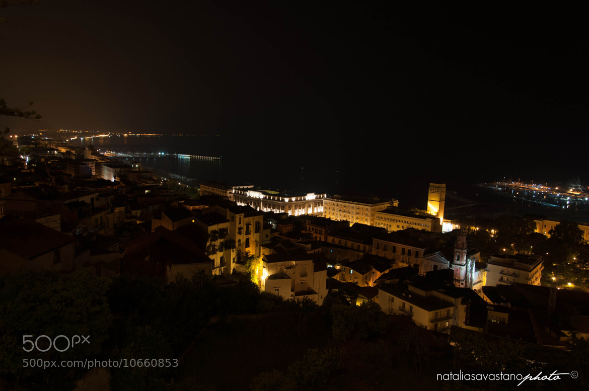 Photograph Salerno by night by Natalia Savastano on 500px