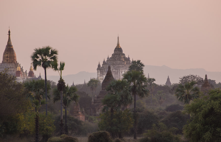 Photograph Hidden Temples of Bagan by Charlie Nowlan on 500px
