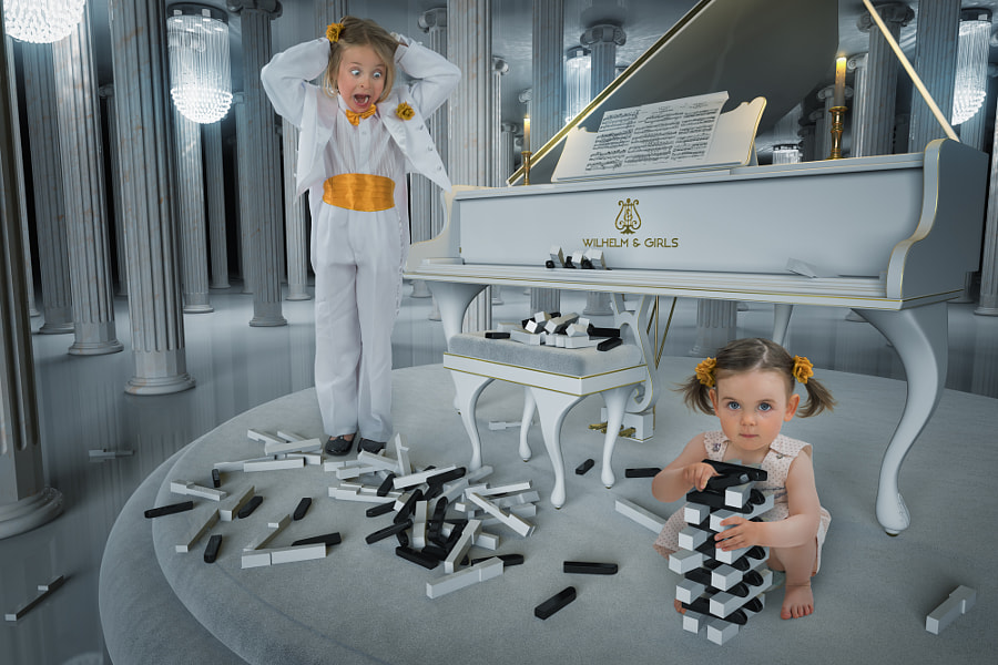Jenga Concerto No. 5 by John Wilhelm is a photoholic on 500px.com