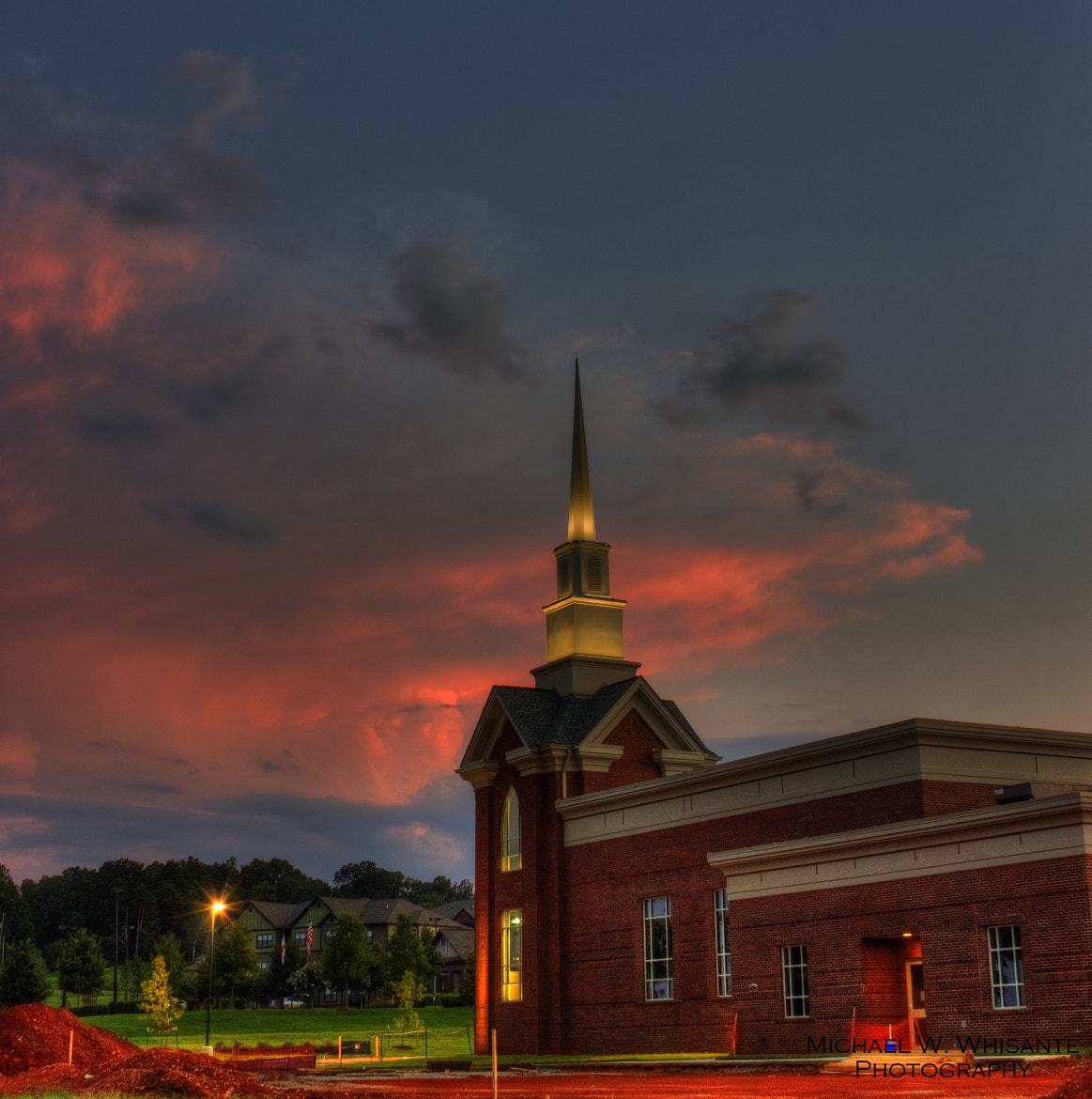 Photograph Church at Sunset by Michael  Whisante on 500px