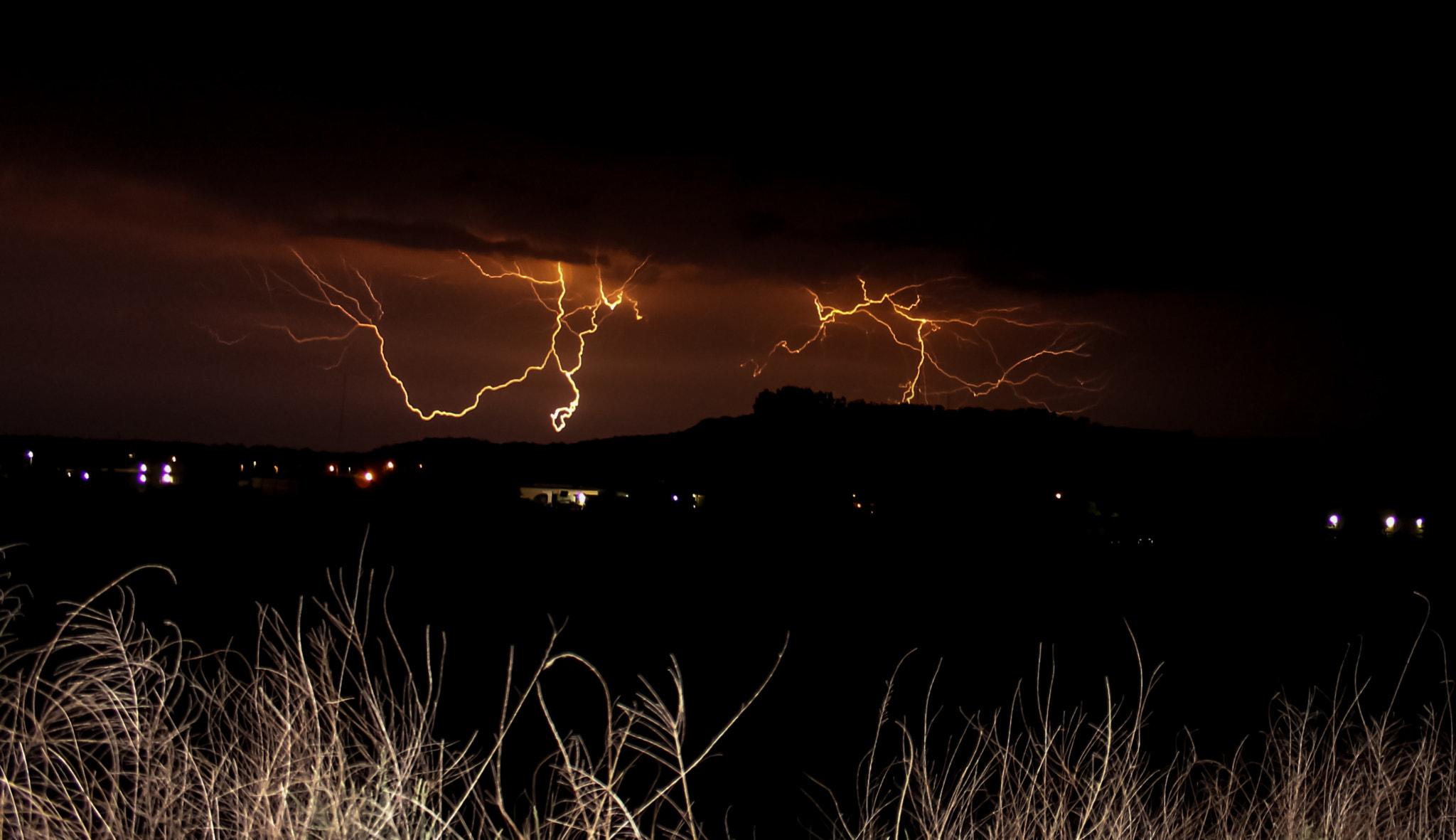 Photograph Lightning over Huntsville by Michael  Whisante on 500px