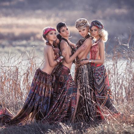 Four fairies.