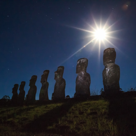 Ahu A Kivi III - Rapa Nui, Chile