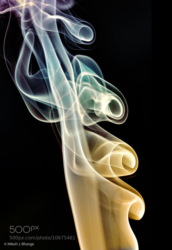 Photograph Smoke curves by Nilesh Bhange on 500px