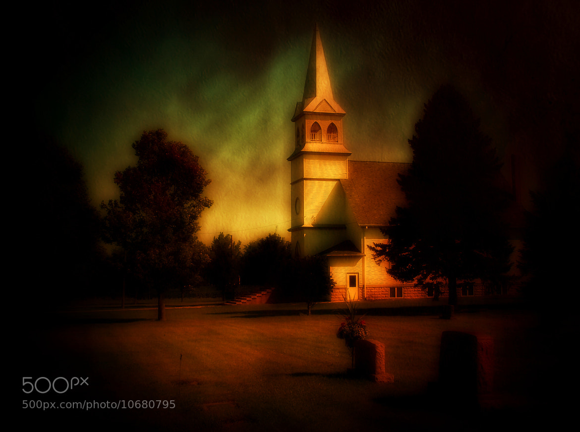 Photograph A Country Church by Dave Linscheid on 500px
