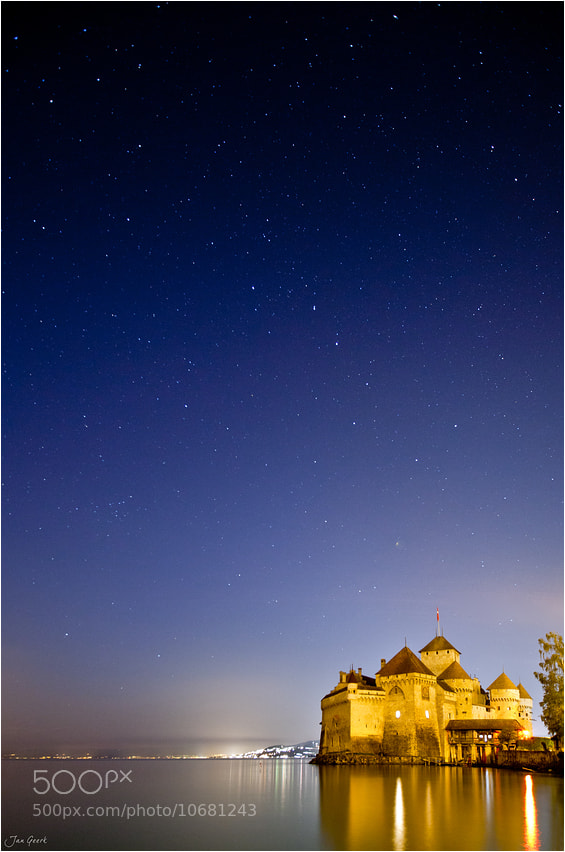 Photograph Night at Castle Chillon by Jan Geerk on 500px
