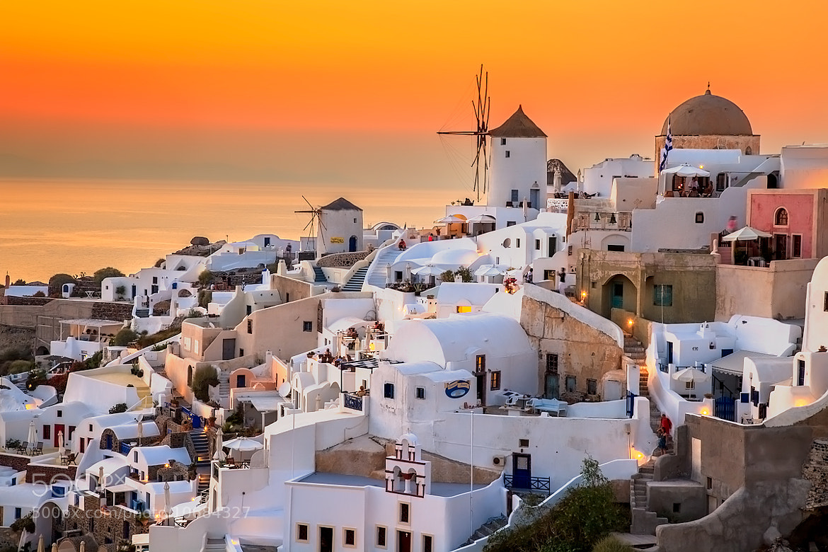 Photograph Oia at Sunset by Raffi Basmajian on 500px