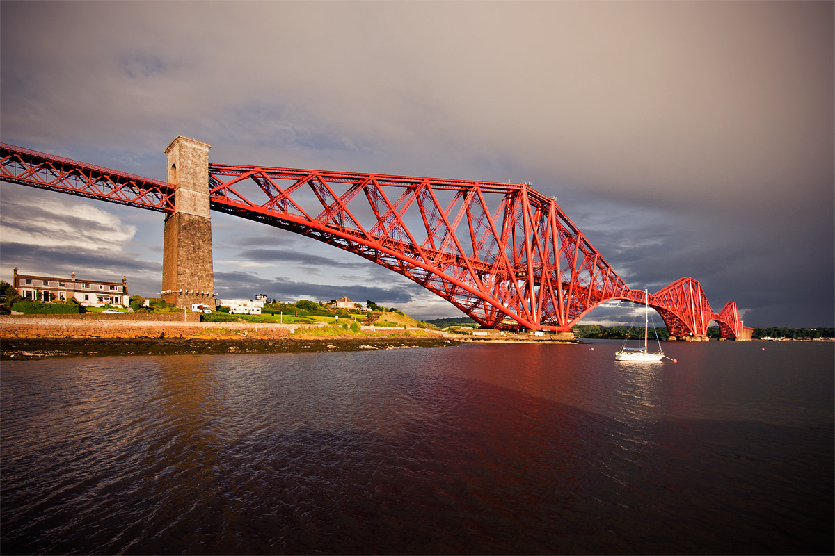 Photograph Forth Rail Bridge by Sebastian Lögering on 500px