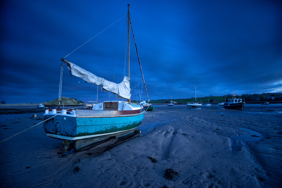 Blue Hour at Alnmouth