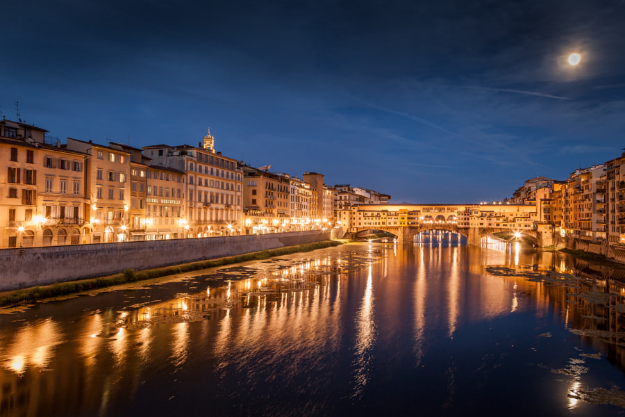 A night in Florence by Jaco Marx on 500px.com