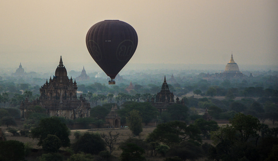 Photograph Bagan temples by Y TR on 500px