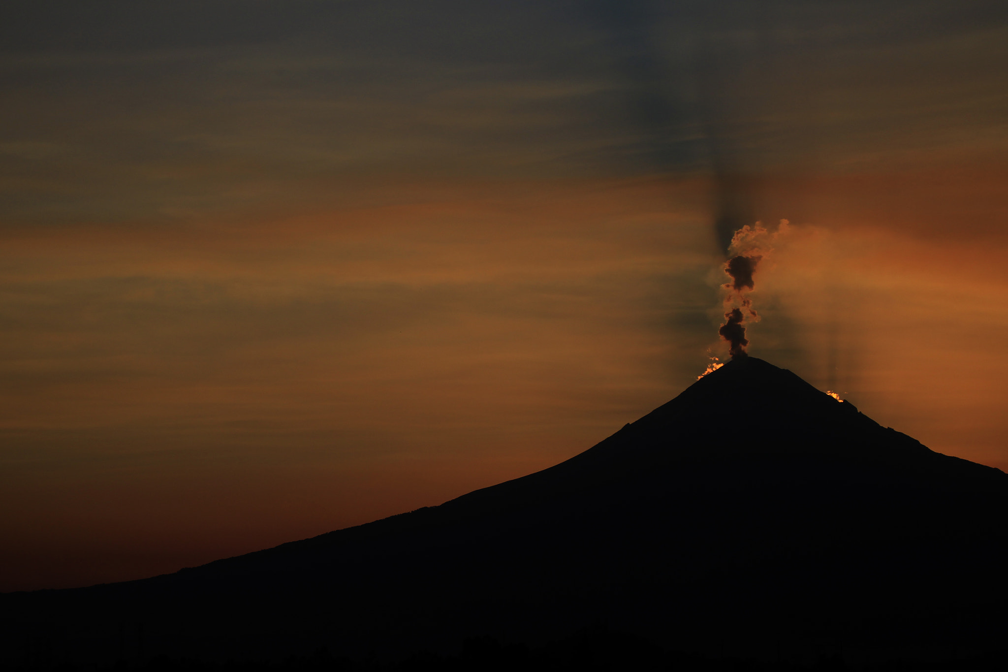 Photograph Sunset and Volcano by Cristobal Garciaferro Rubio on 500px