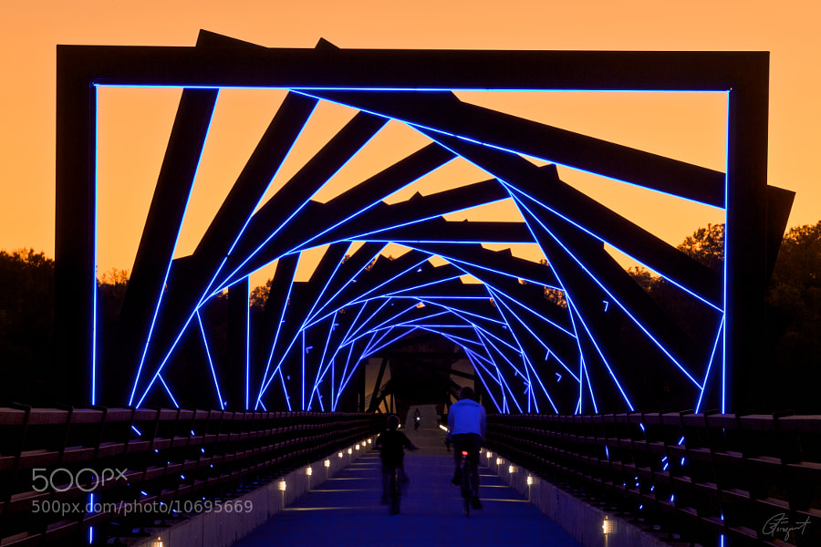 Photograph High Trestle Bridge Trail by Tim Bloomquist on 500px