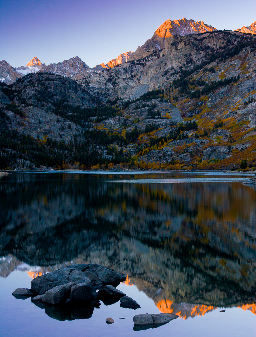 Photograph Mountain Sunrise in the Fall by Tim Bloomquist on 500px