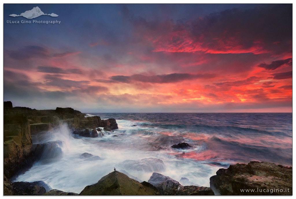Photograph Sunrise at Staffin Bay by Luca Gino on 500px
