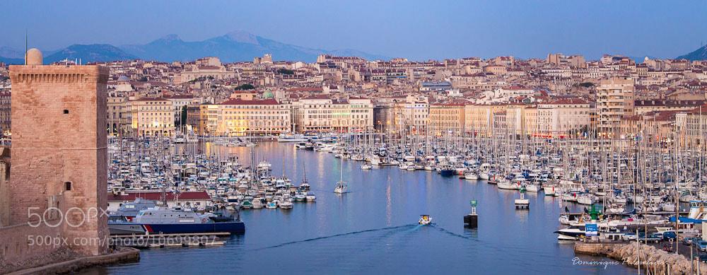 Photograph Marseille - Le Vieux-Port - Provence by Dominique  Palombieri on 500px