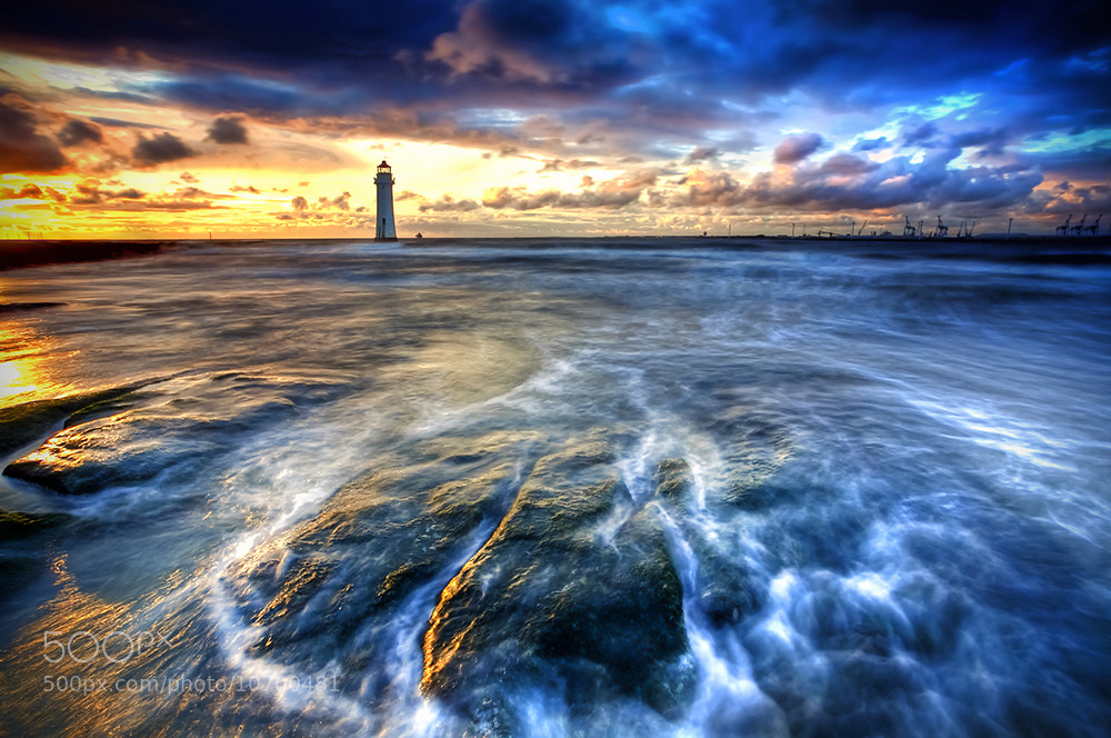 Photograph Dockyard Sunset by Chris Styles on 500px