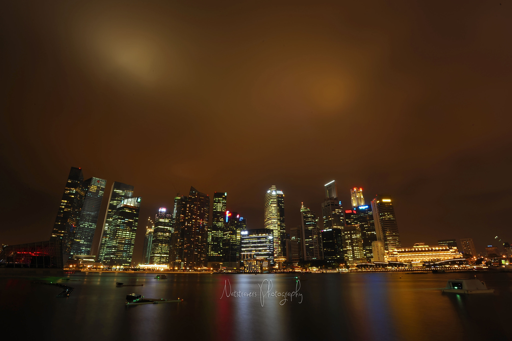 Photograph Marina Bay Singapore by Nathalie Stravers on 500px