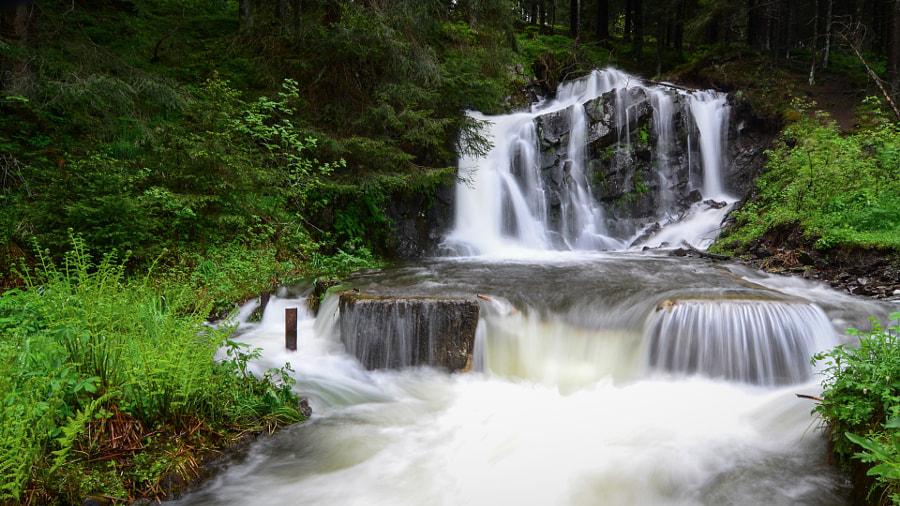 Spiegeltaler Wasserfall - Harz by LennartN on 500px.com
