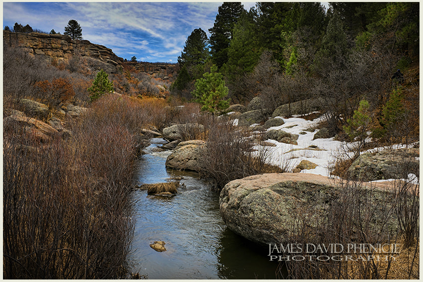 Castlewood Canyon Stream