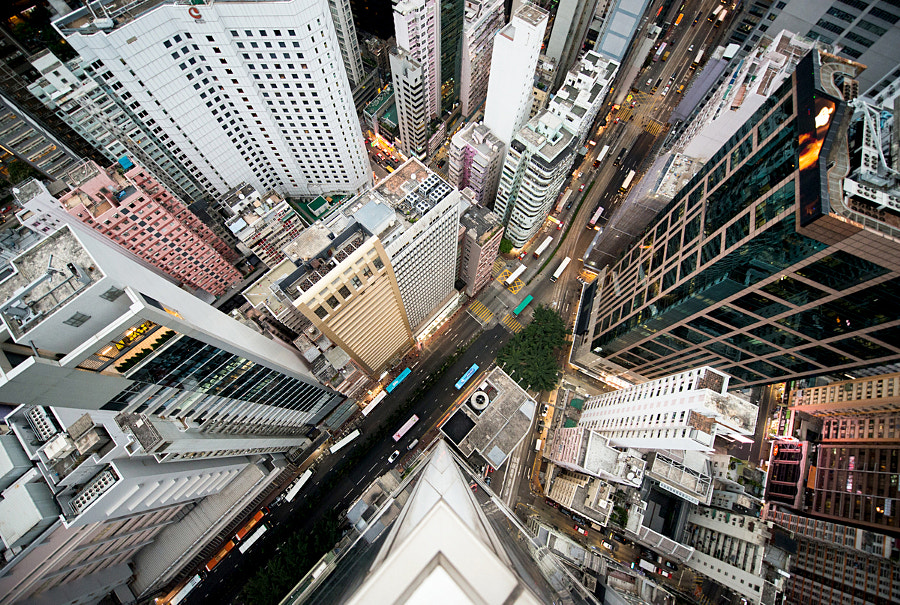 Photograph Intersection | Hong Kong by Navid Baraty on 500px