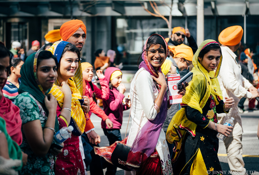 Khalsa day parade