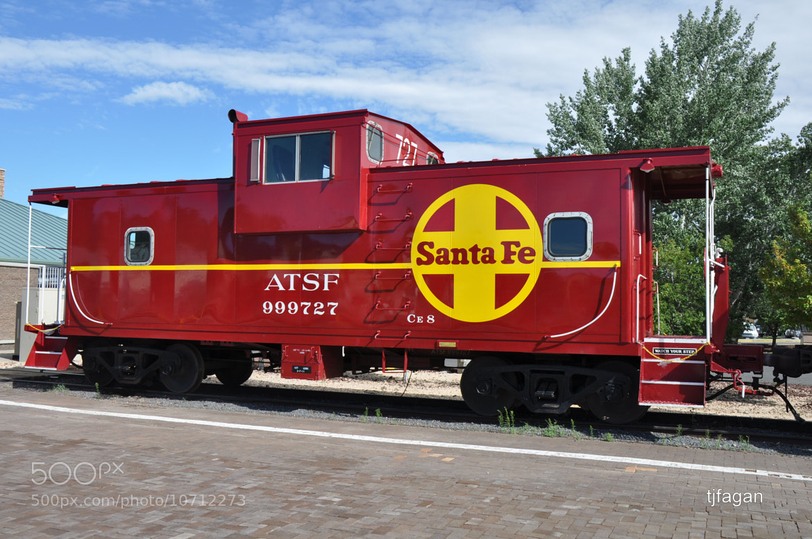Photograph Santa Fe Caboose by Tom Fagan on 500px
