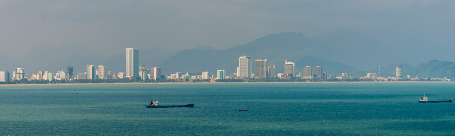 view from the island, Nha Trang, Vietnam