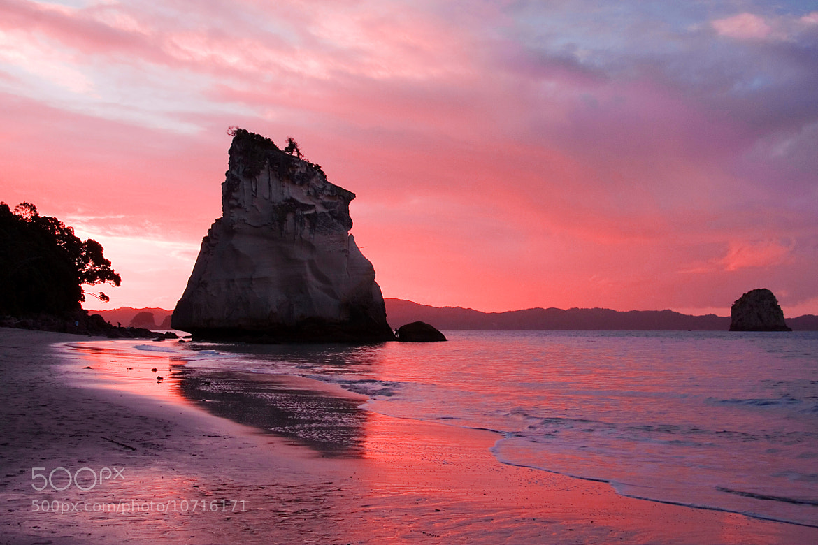 Photograph Cathedral Cove by Tristan Rayner on 500px
