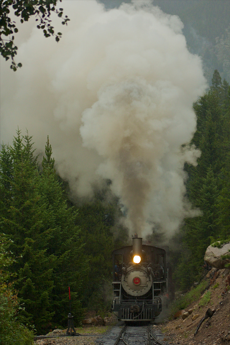 Photograph Georgetown Loop Train by Loree Keeble on 500px