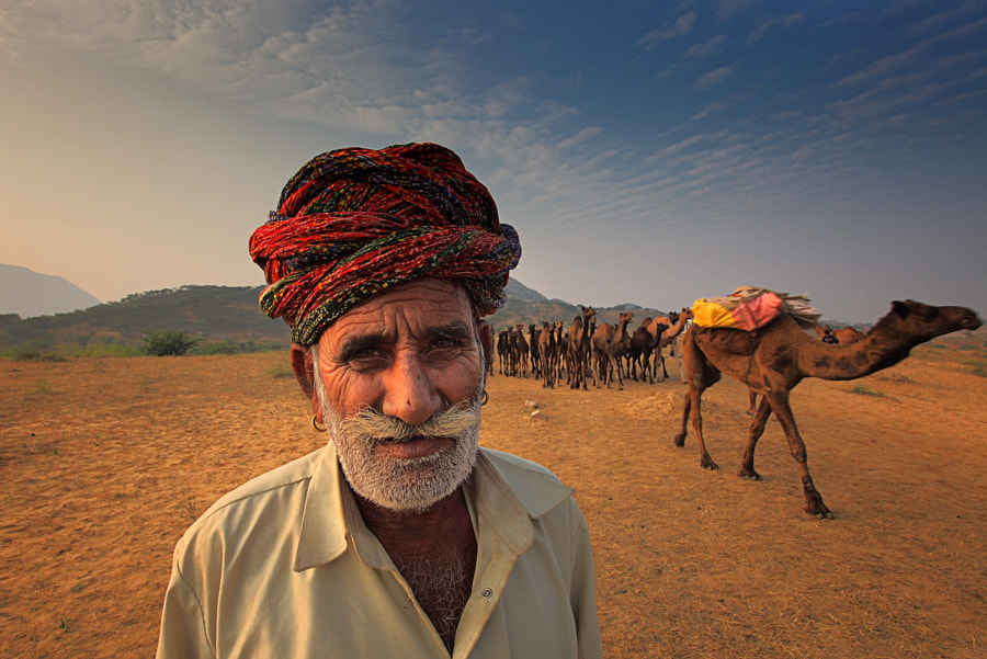 Photograph Camel trader by Atish Sen on 500px