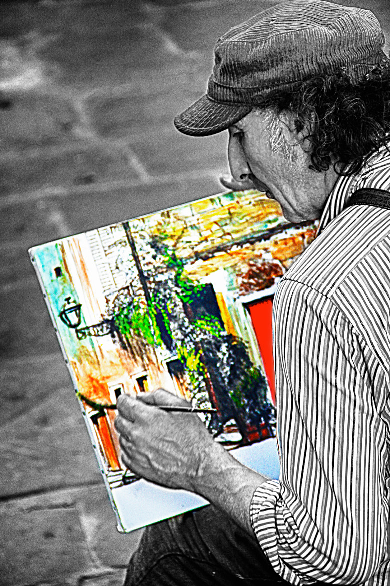 Photograph The Painter by Javier Luces on 500px