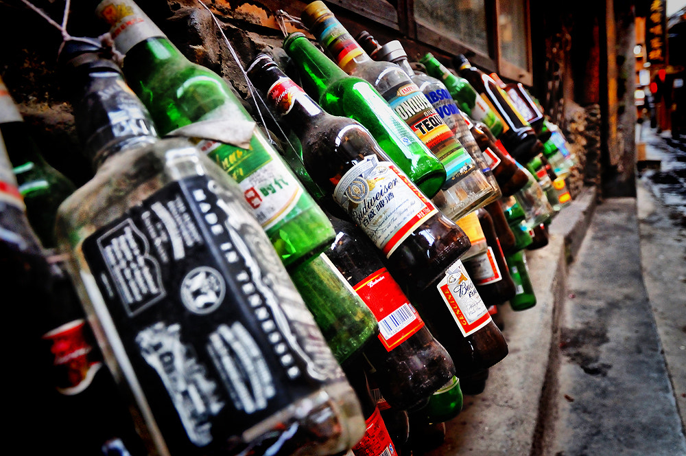 Photograph Bottle by Jumrus Leartcharoenyong on 500px