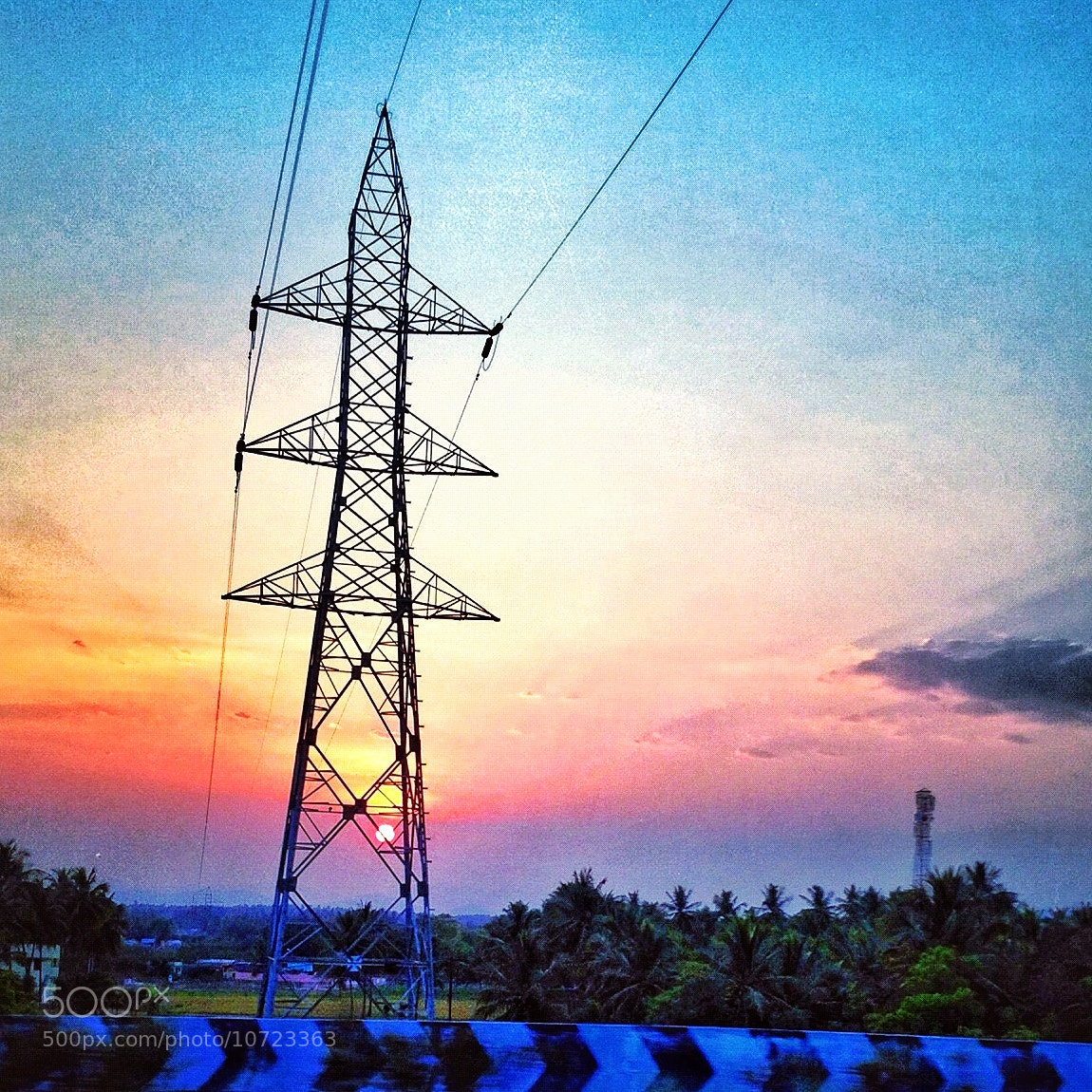 Photograph A Plethora of energy thrusting into the horizon by Surya  Sudhirr on 500px